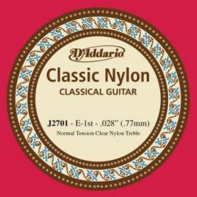 D`ADDARIO J2701 CLASSIC NYLON NORMAL TENSION - 1ST Струна для классической гитары
