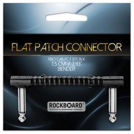 ROCKBOARD RBOCABPC FB75 BLK BENDER FLAT PEDAL CONNECTOR Патч-кабель