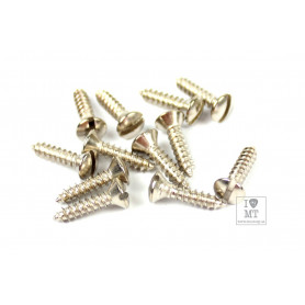 FENDER MOUNTING SCREWS FOR PICKGUARD/CONTROL PLATE '50S ERA TELE Набор винтов