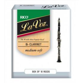 RICO La Voz - Bb Clarinet Medium Soft Трости для духовых фото