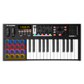 M-Audio Code 25 (Black) MIDI клавиатура фото