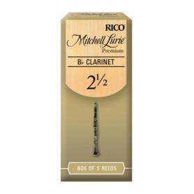RICO Mitchell Lurie Premium - Bb Clarinet 2.5 Трости для духовых фото