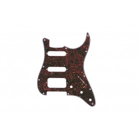 FENDER PRE-WIRED STRAT PICKGUARD HSS TORTOISE SHELL 11 HOLE