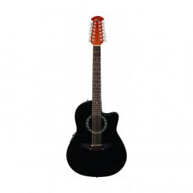 OV511268 Гітара електроакустична 12 стр. Applause Balladeer AB2412-5 Mid Cutaway Black