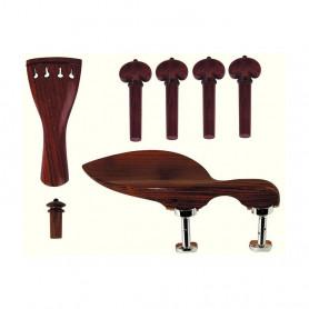 416210 Набір аксесуарів для скрипки (палісандр)