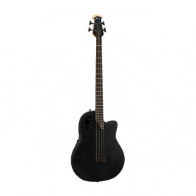 OV553282 Ел. акуст. бас гітара OVATION ELITE T Mid Cutaway Black Textured B778TX-5