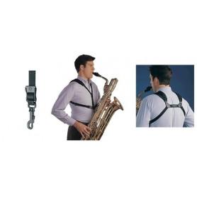 752680 Ремінь-страп. для саксофона Neotech Bk 33-44.4 см