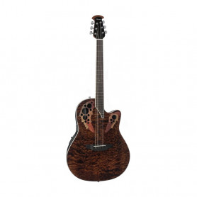 OV533247 Гітара електроакустична OVATION CELEBRITY ELITE PLUS Super Shallow Tiger Eye CE48P-TGE