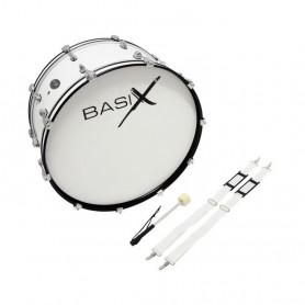 """F893120 Маршовий бас-барабан Chester 24x10"""" White"""