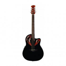 OV513228 Гітара електроакустична Applause Mid Cutaway BK