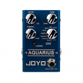 Педаль гітарна JOYO R-07 Aquarius Delay+Looper фото
