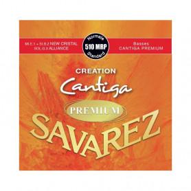 Струни для класичної гітари Savarez Creation Cantiga 510MRP