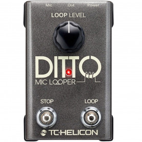 Педаль лупер TC Helicon Ditto Mic Looper