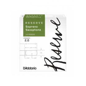 D`ADDARIO DIR1020 - Reserve - Soprano Sax 2.0 - 1шт. Трость для духовых