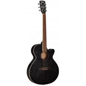 CORT SFX-AB (Open Pore Black) Электро-акустическая гитара (SFX