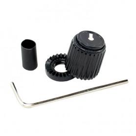 D'ADDARIO PW-LNS-01B Loknob Small Black, Plastic Knob - Ручка