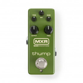 DUNLOP M281 MXR Thump Bass Preamp Преамп педаль для бас-гитары
