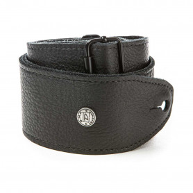 DUNLOP BMF15BK BMF Tri-Glide Leather Black Strap Ремень