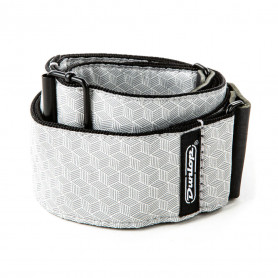 DUNLOP D6712 Jacquard Cube Hatch Light Grey Strap Ремень