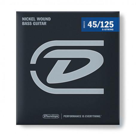 DBN45125 Nickel Wound Bass 5-String 45-125 Струны для