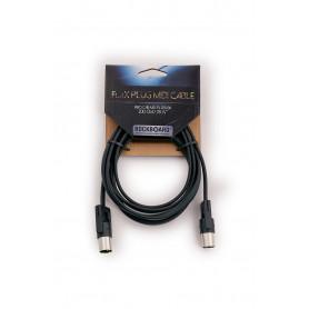 ROCKBOARD RBO CAB MD FX 200 BK RockBoard FlaX Plug MIDI Cable, 200 cm MIDI кабель