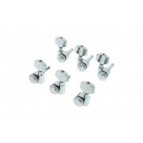 GRAPH TECH PRL-8311-C0 Electric Locking 3+3 Contemporary Chrome 2 Pin Колки для электрогитары