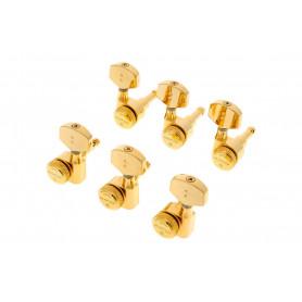 GRAPH TECH PRL-8311-G0 Electric Locking 3+3 Contemporary Gold 2 Pin Колки для электрогитары