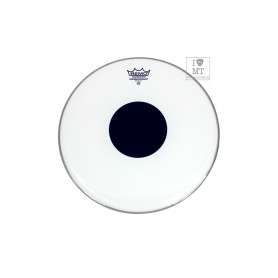 REMO CS 13 SMOOTH WHITE BLACK DOT Пластик для барабана