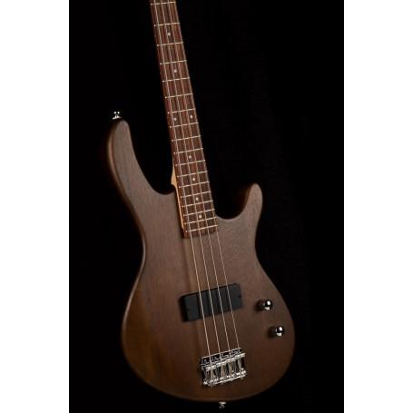 CORT Action Junior (Open Pore Walnut) бас-гитара уменьшенная  (Action Junior OPW)