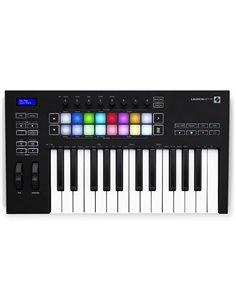 NOVATION Launchkey 25 MK3 MIDI клавиатура
