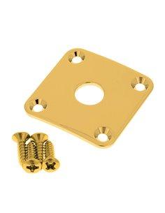 GOTOH JCB-4 GG Jack Cover (Gold) Разъем-планка для электрогитары (JCB4 GG)