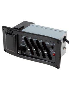 PAXPHIL EQ-7545R 4-BAND EQ ACOUSTIC PREAMP Преамп / Эквалайзер для акустической гитары