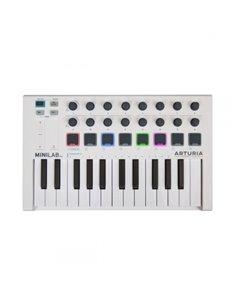 MIDI-клавиатура/Контроллер Arturia MiniLab MKII (White)
