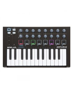 MIDI-клавиатура/Контроллер Arturia MiniLab MKII (Black)