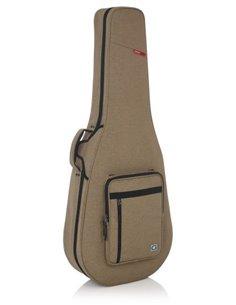 GATORGTR-DREAD12-TAN Tan Transit Lightweight Dreadnought Guitar Case Кейс для 12-струнної акустичної гітари