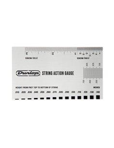 DUNLOP SYSTEM 65 ACTION GAUGE лінійка для вимірювання висоти струн (DGT04)