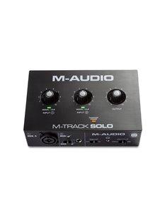 M-Audio M-Track Solo аудіоінтерфейс USB (MTRACKSOLOII)