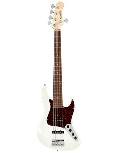 Sadowsky MetroLine 21-Fret Vintage J/J Bass, Red Alder Body, 5-String (Solid Olympic White High Polish) Бас-гітара (SML21VJ5 28