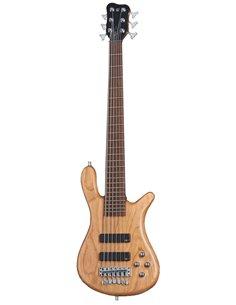 WARWICK Teambuilt Pro Series Streamer LX, 6-String (Natural Transparent Satin) Бас-гітара (GPS1216 90AA CHY FR)