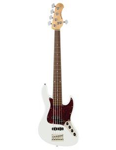 Sadowsky MetroExpress 21-Fret Hybrid P/J Bass, Morado, 5-String (Olympic White High Polish) Бас-гітара (SME21HP5 28R OKU FR)