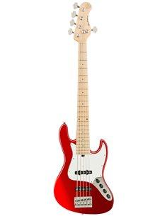 Sadowsky MetroExpress 21-Fret Vintage J/J Bass, Maple, 5-String (Candy Apple Red Metallic) Бас-гітара (SME21VJ5 31M OKU FR)
