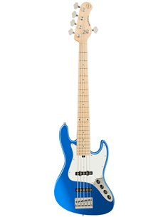 Sadowsky MetroExpress 21-Fret Vintage J/J Bass, Maple, 5-String (Ocean Blue Metallic High Polish) Бас-гітара (SME21VJ5 J2M OKU F