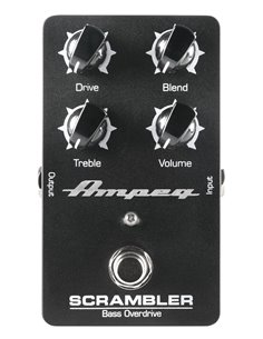 AMPEG Scrambler Bass Overdrive педаль овердрайв для бас-гітари (Scrambler)