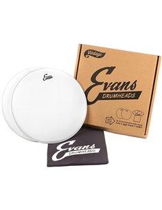 EVANS G1 DOUBLE PACK PLUS T-SHIRT Набір з двох пластиків + футболка (EPP2B14G1V)