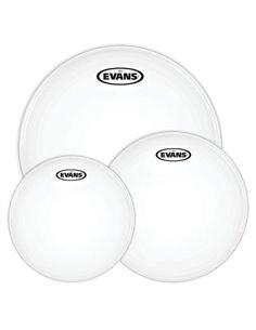 """EVANS G12 COATED Rock Tom Pack (10"""", 12"""", 16"""") - Old Pack набір пластиків для томів (ETP-G12CTD-R OP)"""