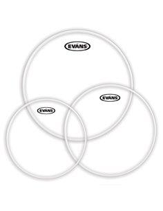 "EVANS G14 Clear Fusion Tom Pack (10"", 12"", 14"") - Old Pack набір пластиків для томів (ETP-G14CLR-F OP)"