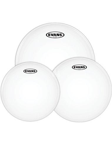 """EVANS G1 Coated Standard Tom Pack (12"""", 13"""", 16"""") - Old Pack набір пластиків для томів (ETP-G1CTD-S OP)"""