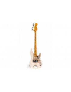 FENDER CUSTOM SHOP 1959 PRECISION BASS JOURNEYMAN RELIC AGED WHITE BLONDE Бас-гитара