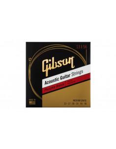 GIBSON SAG-PB13 PHOSPHOR BRONZE ACOUSTIC GUITAR STRINGS 13-56 ULTRA-LIGHT Струны для акустических гитар