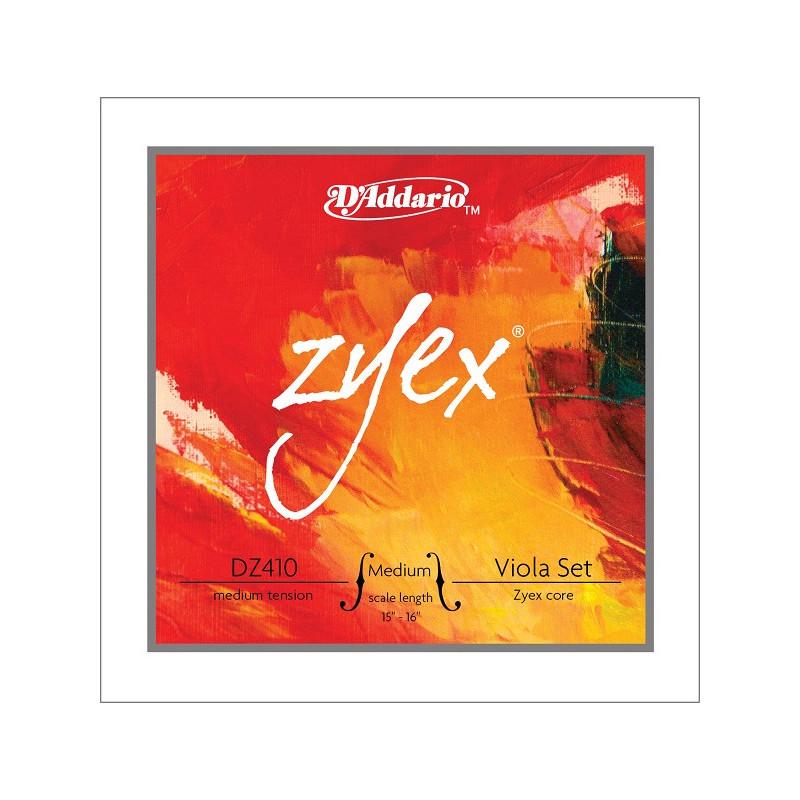 D`ADDARIO DZ410MM ZYEX MM Струны для альта фото